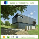Alameda del edificio de dos pisos de la estructura de acero del taller de la fábrica del bajo costo