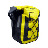 Sac imperméable à l'eau jaune de bicyclette pour le Pannier de déplacement Roswheel de vélo de sac de Pannier de vélo de bicyclette