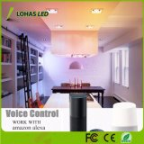 9W (65 vatios equivalentes) E26 Smart luz rebajado de 4 pulgadas de la luz de techo para la iluminación del hogar