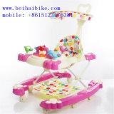 Los mejores regalos del bebé caminante del bebé del balanceo de 360 grados con el empujador
