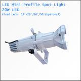 小型LEDのプロフィールの点20Wは白い劇場ライトを暖める