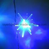 Het hangen van de LEIDENE van de Decoratie van Kerstmis de Lichten Fee van de Ijskegel voor Decoratie Holidaly van Fabriek