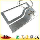 Nette Metallleerzeichen-Gepäck-Marken-Stich-Metallgepäck-Marke