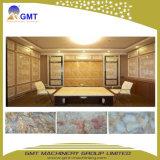 De decoratieve het muur-Paneel van het Blad Faux van pvc Kunstmatige Marmeren Plastic Lijn van de Uitdrijving