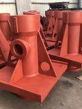 Bastidor de arena de la resina piezas grandes del hierro gris con la capa