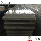 Los paneles de emparedado de la azotea/de la pared del aislante del EPS para la estructura de acero