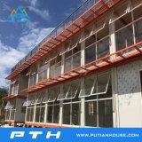 Casa de acero ligera prefabricada del chalet como edificio del hotel de lujo