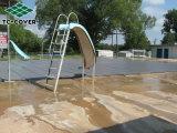 Tampa de segurança fácil universal da piscina da folha dos restos da instalação para alguma associação ao ar livre