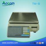 Porta poco costosa della scala LAN/RS232 di ponderazione di stampa del codice a barre 30kg di TM-B