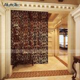 Material de construcción de aluminio de la decoración del diseño del panel del precio de fabricante