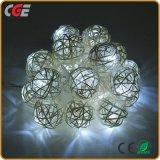 Venta caliente al aire libre de las luces LED de la cadena de Navidad para decoraciones de árbol