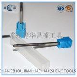 Scrematore solido del carburo della tibia diritta per la scrematura materiale/carbonio/Titianium/alluminio speciali