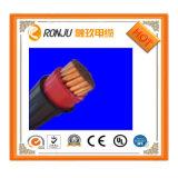 Cavo elettrico del fodero di gomma del PVC di Solf, 3core formato pianamente elettrico del cavo del collegare di rame 0.75mm2