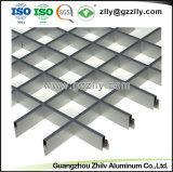 Azulejos abiertos del techo de la red de la célula del aluminio para el supermercado