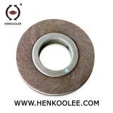 Polimento de metal de alta qualidade de abrasivos roda borboleta