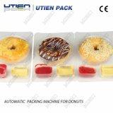 Qualidade superior Donuts Snack, pão com molho de máquina de embalagem