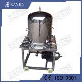 Grau alimentício Filtro de membrana de aço inoxidável Pressione a placa de pressão do filtro