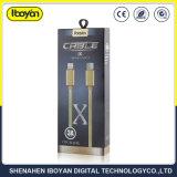 カスタマイズされた長さデータ電光USBの携帯電話の充電器