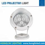 조경 LED 점화 Intiground 지상 가벼운 9W LED 스포트라이트