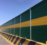 Barriera d'acciaio di disturbo del suono della strada principale galvanizzata isolamento acustico esterno