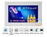 10 дюймов LCD рекламируя экран дисплея с высокой яркостью опционной (MW-102ABS)