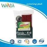 Paquete que combina los productos de limpieza abrasivos verde Estropajos decapar Pad