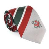 Cravate personnalisée de vente chaude de logo de /Silk de relation étroite de logo