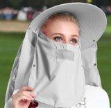 protezione di golf del cappello di golf della protezione solare del coperchio completo 4-Way