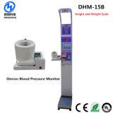 Dhm-15b de alta calidad mecánica Hospital Báscula 500kg de peso y altura de la presión arterial Básculas corporales