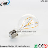 Grande E27 Edison lampadina dell'indicatore luminoso LED del filamento del progettista di stile di G125