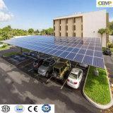 Modulo solare policristallino approvato 270W di RoHS TUV del Ce fatto domanda per le applicazioni del parcheggio