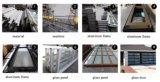 Volets roulants en PVC/polycarbonate clair de volets roulants