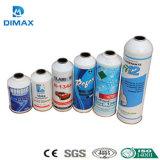 Cilindro descartáveis do gás refrigerante R134A