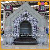 Opblaasbare Spookhuizen van het Monster van het Kasteel van de Decoratie van Halloween de Opblaasbare Stuiterende (AQ02394)