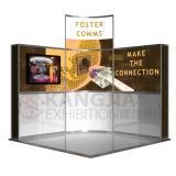 портативная будочка выставки индикации торговой выставки 3X3