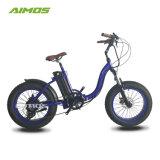 [48ف] [500و] كثّ مكشوف محرك إطار العجلة سمين دراجة كهربائيّة مع دوّاسة يساعد