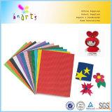 Fleur de papier de bricolage pour les enfants en carton ondulé