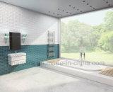 32.5x145мм черный матовый кирпича стеклянной мозаикой из фарфора плитка