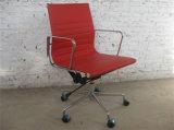 Retour haut de la qualité du milieu de la Chine rouge chaise de bureau avec pattes en aluminium