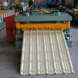 上海は機械を形作る屋根によって艶をかけられたタイルロールを直接供給する波形を付けた