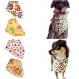 O logotipo personalizado impresso cão grossista e marca triangular Bandana