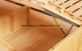 Camas matrimoniales modernas de la base de madera sólida (M-X2289)