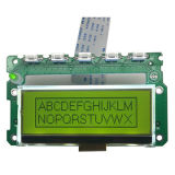 12864 Stn, Y-G Graphic LCD Modulates with Green Backlight