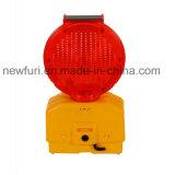 Lampeggiatore solare dell'indicatore luminoso della barriera di discipline del traffico LED
