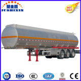 De Semi Aanhangwagen van de tri van de As 42000L van het Aluminium van de Legering Tanker van de Brandstof