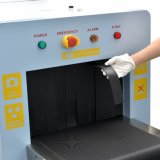Hot Sale petit tunnel taille X-ray Scanner Sunleader Bagages Les bagages de rayons X Scanner E-5030A