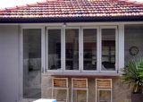 Miradas hermosas de Pnoc080904ls plegables la ventana con el marco de aluminio
