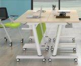 Prémio Flexível Multifuncional usando o computador do escritório Econômica Table-Fs reuniões e treinamento