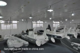 Bateaux gonflables de côte de Liya 22feet avec le bateau gonflable rigide de consoles centrales
