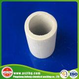 Anello di ceramica di Raschig per industria petrochimica (6mm 10mm 15mm 25mm 38mm 50mm 76mm 90mm 100mm)